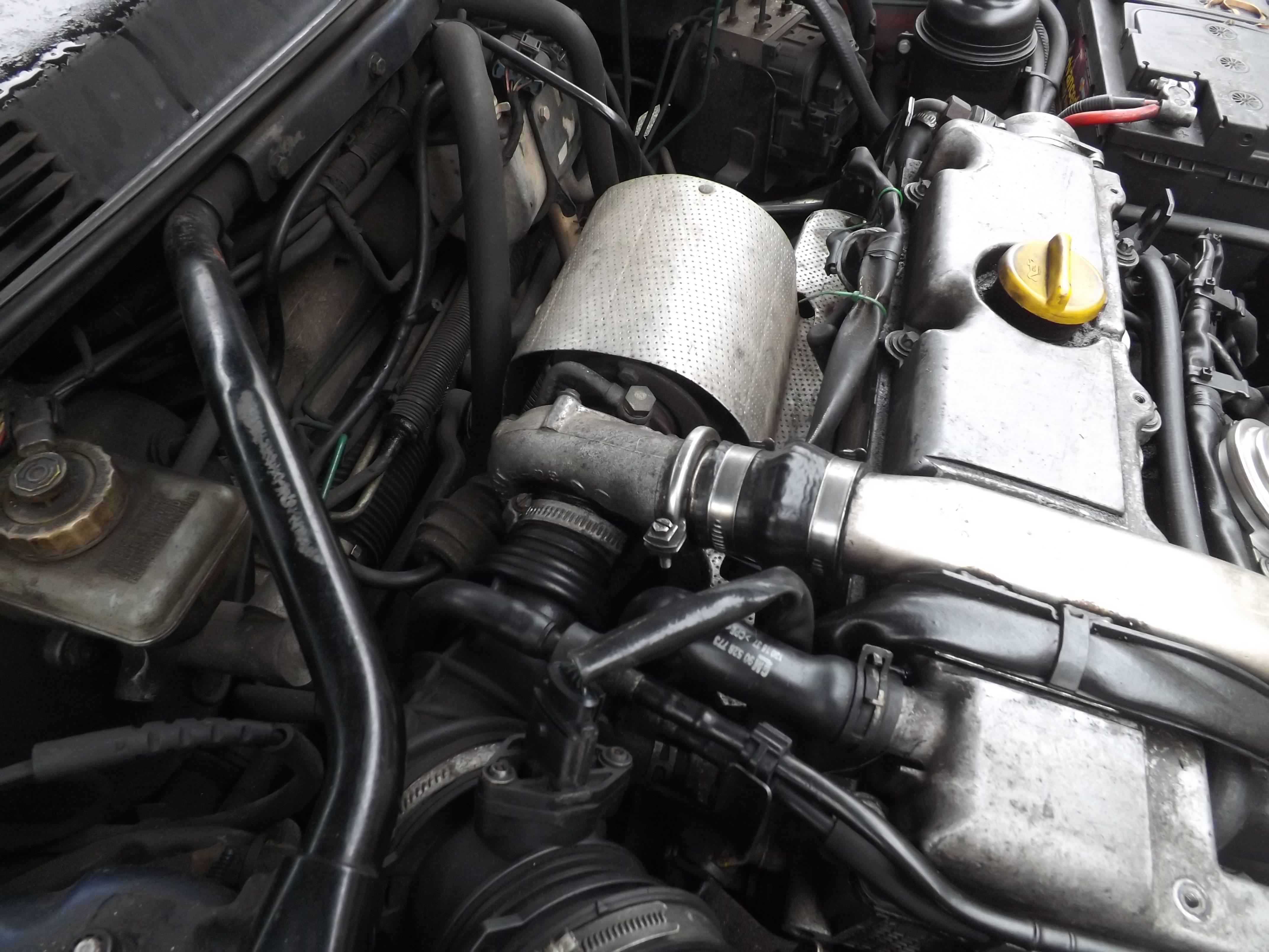 UKSaabs • View topic - 2000/01 X-reg 9-3 2.2 tid diesel. Changing ...